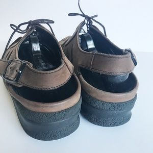 Birkenstock Shoes - Tatami Birkenstock Leather Nubuck Sandals